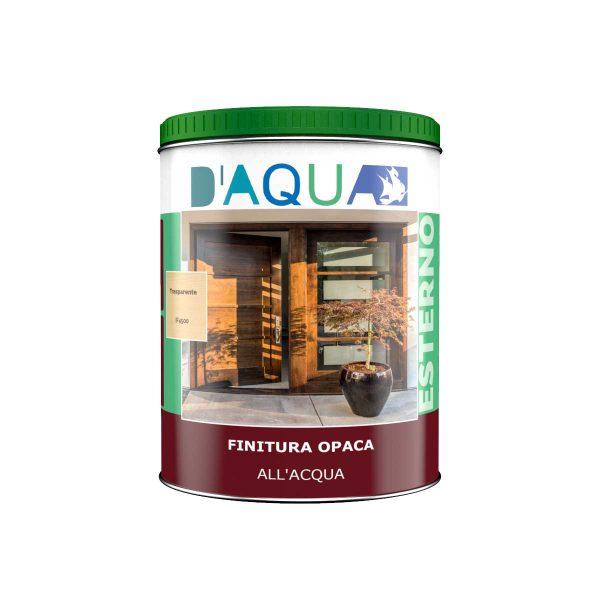 finitura all'acqua antigoccia serie IF4 legno per esterni D'AQUA