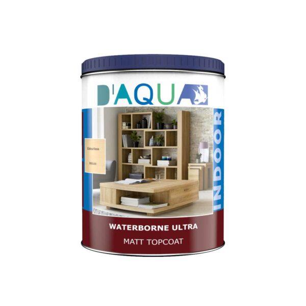 waterborne topcoats wood for interior IN6 series D'AQUA