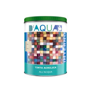 tinta all'acqua acrilica legno per interni serie IT85 D'AQUA