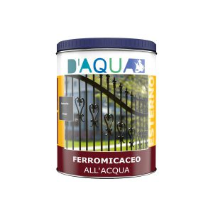 finitura all'acqua ferromicacea serie IX2190 D'AQUA